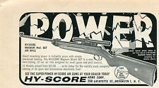 1965 small Print Ad of Hy-Score Magnum Model 807 .22 Air Rifle