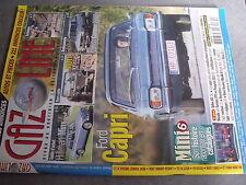 $$s Revue Gazoline N°175 Ford Capri  Hillman Minx  Mutt M 151  Lancia Gamma 2000