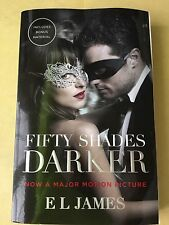 Fifty Shades Darker. E L James. Paperback In Very Good Condition. Adult Sex S&M