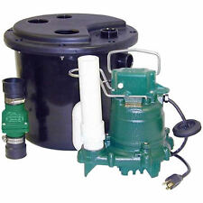 105-0001 NEW ZOELLER M53 REMOTE SINK/DRAIN PUMP SYSTEM W/ VERTICAL FLOAT SWITCH