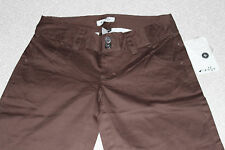 NEW AUTHENTIC OAKLEY Women Summer Day Capri Regular Fit Earth Brown Size 0