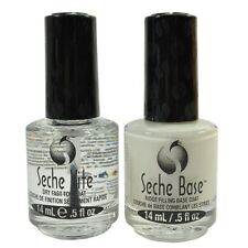 Seche Vite Dry Fast Top Coat/seche Ridge Filling Base Coat Duo