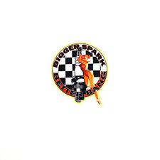 BIGGER SPARK BETTER BANG DRAG RACE HOT RAT ROD DECAL VINTAGE LOOK STICKER