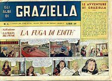 GLI ALBI DI GRAZIELLA # LA FUGA DI EDITH # N.4 Febbraio 1948 # Ed.Subalpino