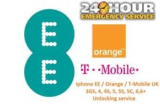 IPhone EE / Orange / T-Mobile UK 7 / 7 + PLUS Sblocco Servizio EXPRESS