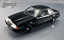 1/18 GMP 1992 FORD MUSTANG 5.0 FBI PURSUIT BLACKED OUT LIMITED TO 948pc