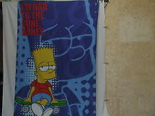 The Simpsons Single Duvet Cover And Pillow Case Bart Simpson
