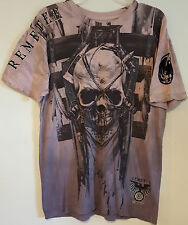 REMETEE – Men's Graphic Skull T-Shirt - Size: LARGE