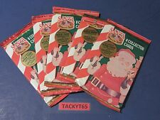 1994 SANTA AROUND THE WORLD TRADING CARDS LOT OF (5) UNOPENED PACKS