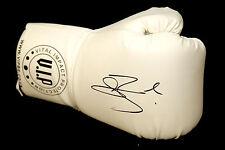 * New * Conor Benn Hand Signed White Vip Boxing Glove:*Rare*