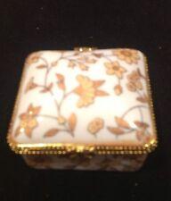 wyroby porcelain trinket or jewelry box