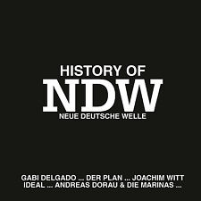 CD History Of NDW von Various Artists mit Ideal, Joachim Witt, Rheingold