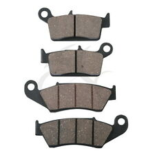 Front Rear Brake Pads For KAWASAKI KX 125 KX250 KX500 1996- KDX250 KLX300