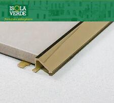 PROFILO PER PAVIMENTI TERMINALE IN OTTONE LUCIDO 10MM H 2,70