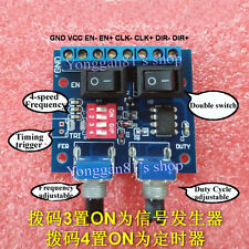 Duty Cycle NE555 Frequency Adjustable Square Wave Stepper Motor Driver Module
