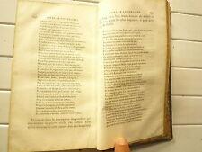 TOME 1 SEUL COURS DE LITTERATURE ANCIENNE ET MODERNE DE LA HARPE LEDENTU 1826