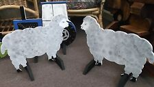 2 x SHEEP shaped Horse show jump fillers or wings pony show farm events a