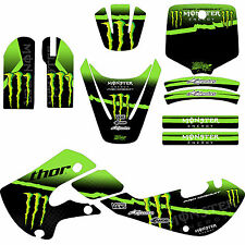 STICKER KIT FOR KAWASAKI KX65 + KLX 110 + KX GRAPHICS KIT + MOTOCROSS STICKERS