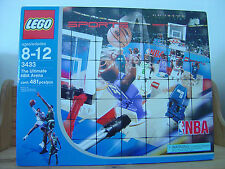 2003 Lego NBA Basketball Set 3433 The Ultimate Arena Brand New Factory Sealed