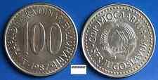 1  Münze aus Jugoslawien    100  Dinara  1987