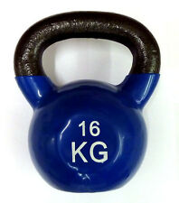 Ironman Colour Vinyl Kettlebell 16kg - BLUE