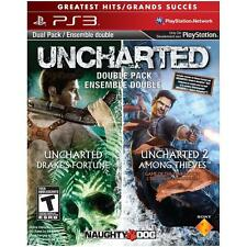 Uncharted Dual Pack -- Greatest Hits (Sony PlayStation 3, 2011)