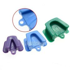 Dental 3Pcs/Kit Opener Retractor Silicone Mouth Prop Rubber Latex Bite Block