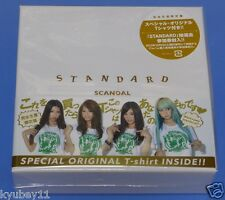 New SCANDAL Standard Limited Edition CD T-Shirt Japan ESCL-4105 Free Shipping