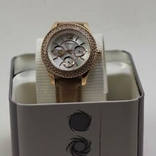 NEW AUTHENTIC FOSSIL STELLA ROSE GOLD CHRONOGRAPH CRYSTALS WOMEN'S ES3816 WATCH