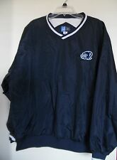C Port and Company Pull Over Navy Blue Men's Jacket Size XL