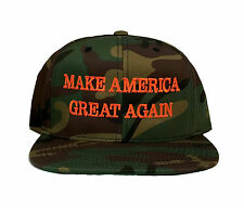 Make America Great Again Donald Trump Hat Camo Cap Yupoong Classic Snapback