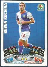 TOPPS MATCH ATTAX 2011-12- #053-BLACKBURN ROVERS-RUBEN ROCHINA