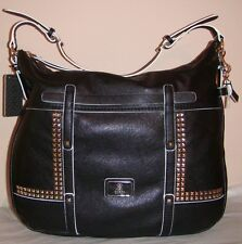 Guess Black Road Trip Hobo Handbag MSRP $118.00
