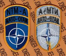 U.S Army Element NATO Training Mission NTM-A Afghanistan patch m/e