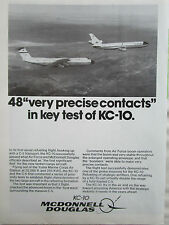 2/1981 PUB MCDONNELL DOUGLAS KC-10 TANKER C-5 GALAXY TRANSPORT US AIR FORCE AD