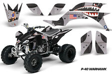 Yamaha YFZ 450 AMR Racing Graphic Kit Wrap Quad Decals ATV YFZ450 04-13 WARHAWK