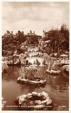 BR70031 fountain and rock gardens southsea real photo   uk