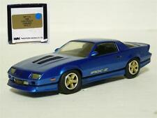 Western WP112 1/43 1985 Chevrolet Camaro IROC-Z Handmade White Metal Model Car