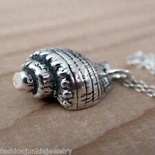 Conch Shell Necklace - 925 Sterling Silver Charm *NEW* Nautical Beach Ocean