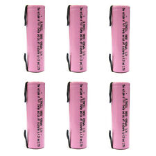 6 x 18650 4200mAh 3.7V Li-ion Rechargeable battery UltraCell w/Tab Rose US Stock