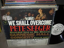 PETE SEEGER we shall overcome ( folk ) - WHITE LABEL PROMO -