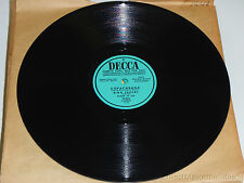 BING CROSBY with THE BANDA DA LUA Copacabana / Granada PROMO DECCA 27951 VG+