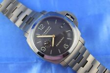 Panerai Luminor Marina 1950 3 Day Titanium  Mens Watch PAM352 BOX & PAPERS