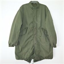 VINTAGE US ARMY 1970 M-65 M65 FISHTAIL PARKA WITH LINER SIZE SMALL VIETNAM WAR