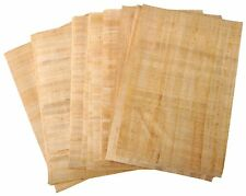 20 Blank Egyptian Papyrus Sheets for Art Projects, Schools 20x30cm UK Shipping