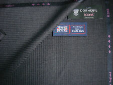 "DORMEUIL 100% SUPER 120's WOOL SUITING FABRIC  ""iconik"" – MADE IN ENGLAND– 3.4m"