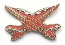 RAF Royal Air Force Red Arrows X over Pin Badge *Official Product