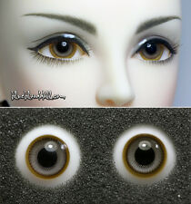 1/3 1/4 bjd 16mm two tone color high quality glass doll eyes M-49 dollfie luts
