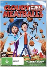 Cloudy With A Chance Of Meatballs [ DVD ] NEW & SEALED, Region 4, FastPost..6873