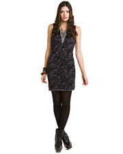 Free People Bodycon Black Sheath Sweater Dress M $168